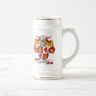 Escudo de la familia de Henriquez Taza De Café