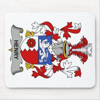 Escudo de la familia de Henry Mousepad