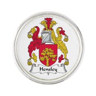 Escudo de la familia de Hensley Pin