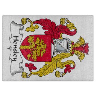 Escudo de la familia de Hensley Tablas De Cortar