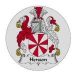 Escudo de la familia de Henson Fichas De Póquer