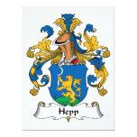 Escudo de la familia de Hepp Anuncios Personalizados