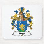 Escudo de la familia de Hepp Alfombrilla De Ratones