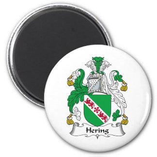Escudo de la familia de Hering Imán Redondo 5 Cm