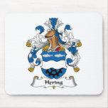 Escudo de la familia de Hering Tapete De Raton