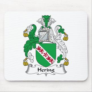 Escudo de la familia de Hering Alfombrilla De Ratones