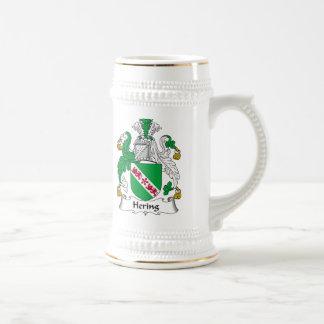 Escudo de la familia de Hering Taza De Café