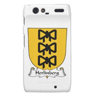 Escudo de la familia de Herlinberg Droid RAZR Fundas