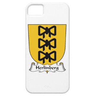 Escudo de la familia de Herlinberg iPhone 5 Coberturas