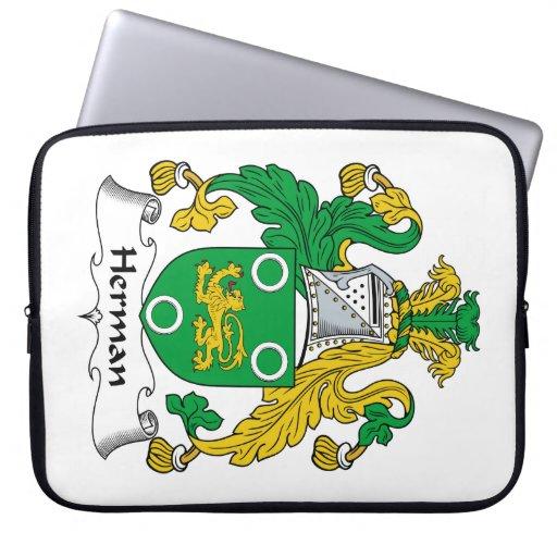 Escudo de la familia de Herman Funda Computadora