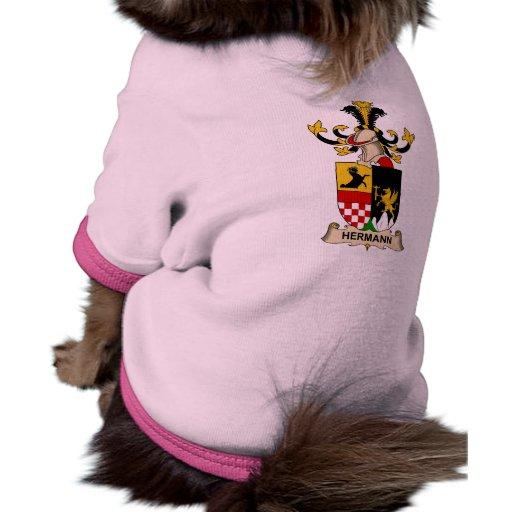 Escudo de la familia de Hermann Camisa De Mascota