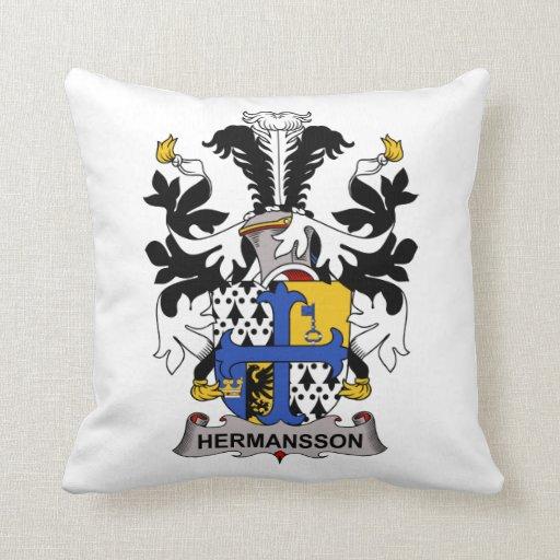 Escudo de la familia de Hermansson Cojin