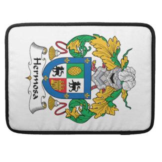 Escudo de la familia de Hermosa Fundas Macbook Pro