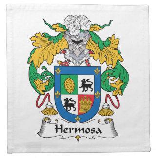 Escudo de la familia de Hermosa Servilletas De Papel
