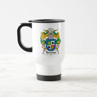 Escudo de la familia de Hermosa Tazas De Café