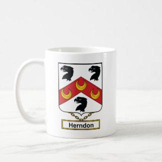 Escudo de la familia de Herndon Taza