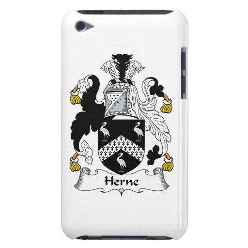 Escudo de la familia de Herne Case-Mate iPod Touch Coberturas