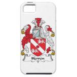 Escudo de la familia de Herren iPhone 5 Cárcasas