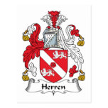 Escudo de la familia de Herren Postal