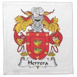 Escudo de la familia de Herrera Servilleta Imprimida