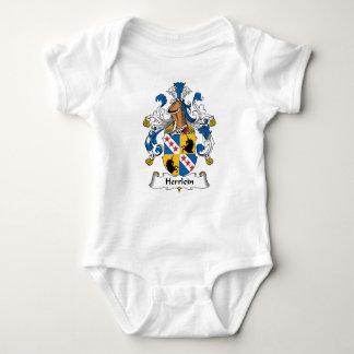 Escudo de la familia de Herrlein Body Para Bebé