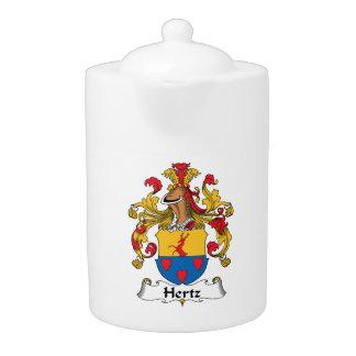 Escudo de la familia de Hertz