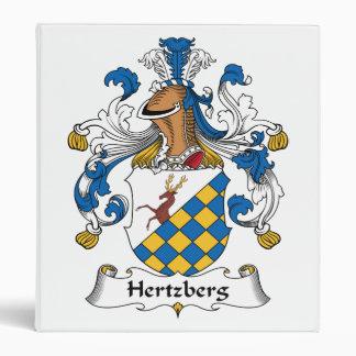 """Escudo de la familia de Hertzberg Carpeta 1"""""""