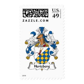 Escudo de la familia de Hertzberg Envio