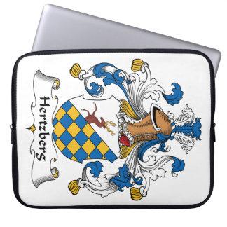 Escudo de la familia de Hertzberg Funda Ordendadores