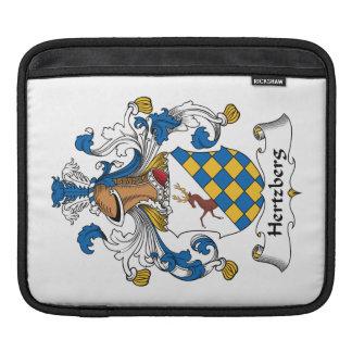 Escudo de la familia de Hertzberg Funda Para iPads