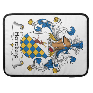 Escudo de la familia de Hertzberg Funda Para Macbooks