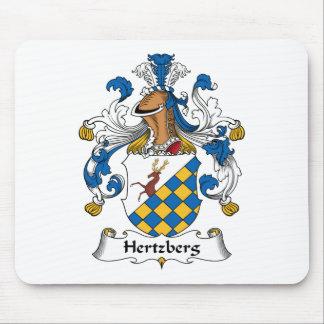 Escudo de la familia de Hertzberg Mouse Pad