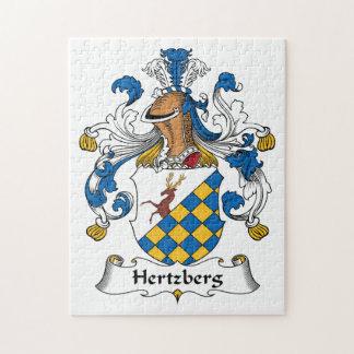 Escudo de la familia de Hertzberg Rompecabezas Con Fotos