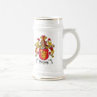Escudo de la familia de Herzog Jarra De Cerveza