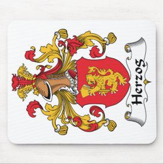 Escudo de la familia de Herzog Tapete De Raton