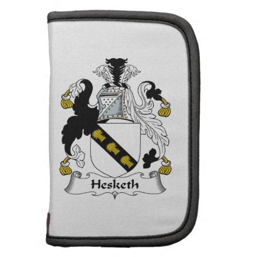 Escudo de la familia de Hesketh Organizadores