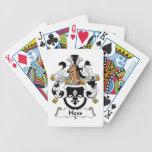 Escudo de la familia de Hess Baraja Cartas De Poker