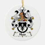 Escudo de la familia de Hess Ornamentos De Reyes