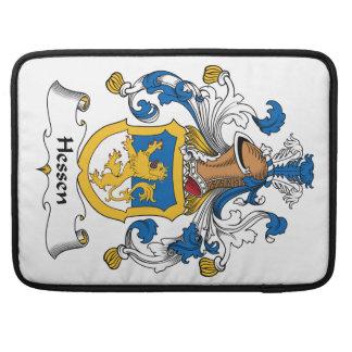 Escudo de la familia de Hesse Fundas Para Macbooks