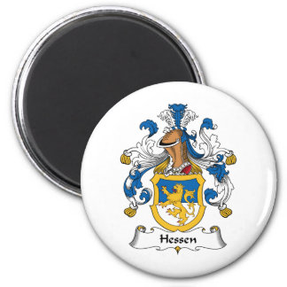 Escudo de la familia de Hesse Imán Redondo 5 Cm