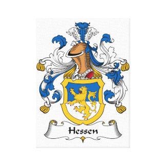 Escudo de la familia de Hesse Impresiones De Lienzo