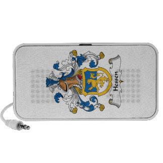 Escudo de la familia de Hesse Mp3 Altavoces