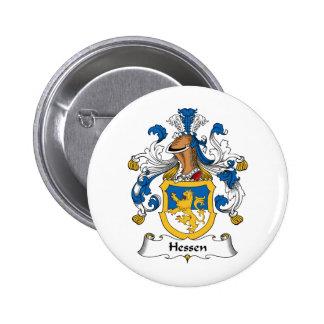 Escudo de la familia de Hesse Pin Redondo 5 Cm