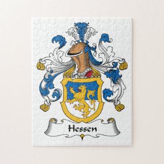 Escudo de la familia de Hesse Puzzle