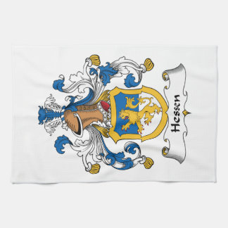 Escudo de la familia de Hesse Toallas