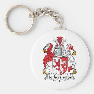 Escudo de la familia de Hetherington Llavero Personalizado