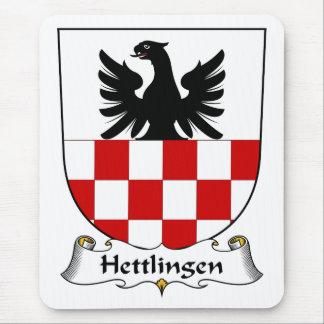 Escudo de la familia de Hettlingen Alfombrilla De Ratones