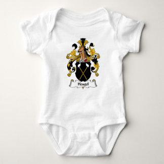 Escudo de la familia de Heugel Body Para Bebé