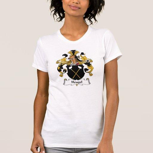 Escudo de la familia de Heugel T-shirts
