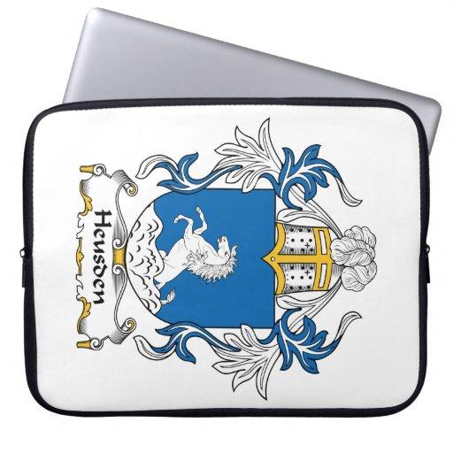 Escudo de la familia de Heusden Mangas Portátiles